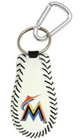 Miami Marlins keychain