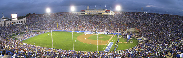 Baseball's Return to the Los Angeles Coliseum