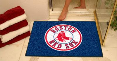 red sox bathroom mat - Boston Red Sox Bath Accessories