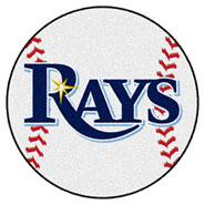Baseball Team Logo Floor Mats