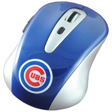 Chicago Cubs wireless computer mouse