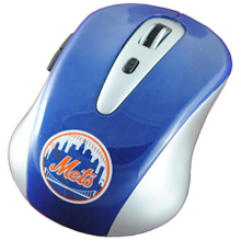 New York Mets wireless computer mouse
