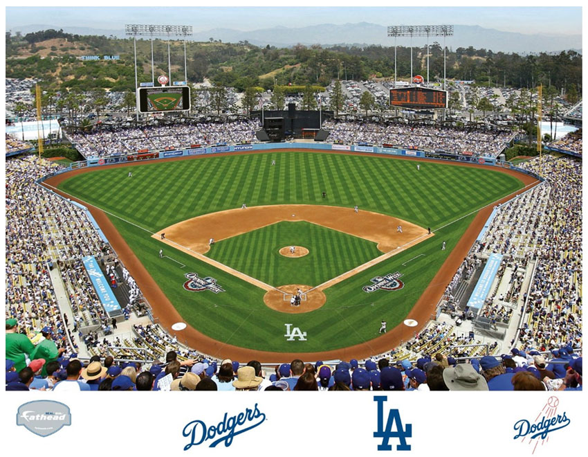 Dodger stadium mural for Dodger stadium wall mural