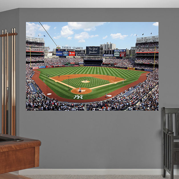 Yankee Stadium Mural On Wall