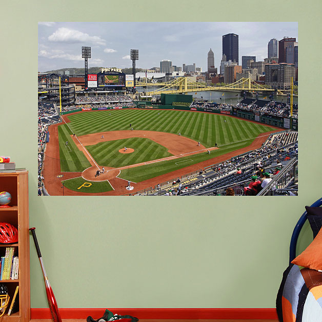 PNC Park Mural On Wall ... Part 62