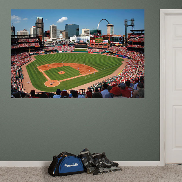 Baseball stadium wall mural baseball stadium wall murals for Dodger stadium wall mural