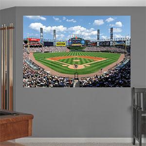 U s cellular field mural for Baseball field mural