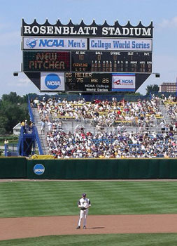 College World Series Omaha S Rosenblatt Stadium