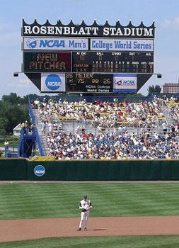 College World Series Omaha S Rosenblatt Stadium