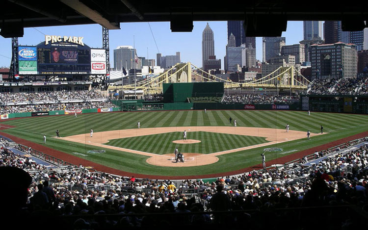PNC Park in Pittsburgh on Opening Day