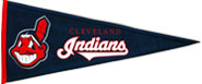 Indians wool pennants