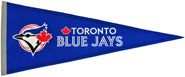 Blue Jays wool pennants