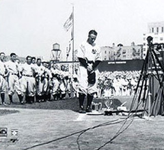 Lou Gehrig's farewell speech (1939)