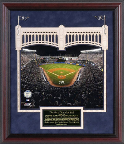Yankee Stadium Framed Photos