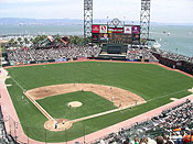 San Francisco's AT&T Park is one of 10 ballparks to turn 10 in 2010