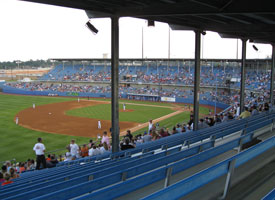 Drillers Stadium during its final game