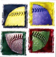 Baseball is an Art poster
