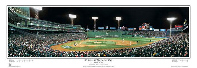 Fenway Park Posters Rob Arra Collection