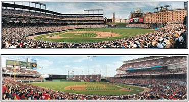 Ballpark panoramas by Rob Arra