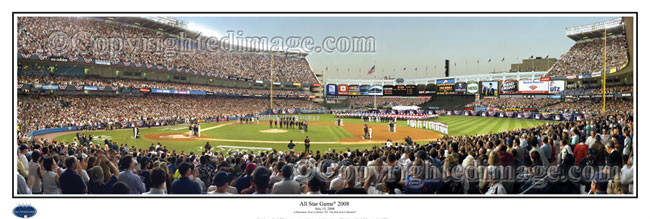 d4630519886 ... Rob Arra Collection Yankee Stadium - All Star Game panorama poster