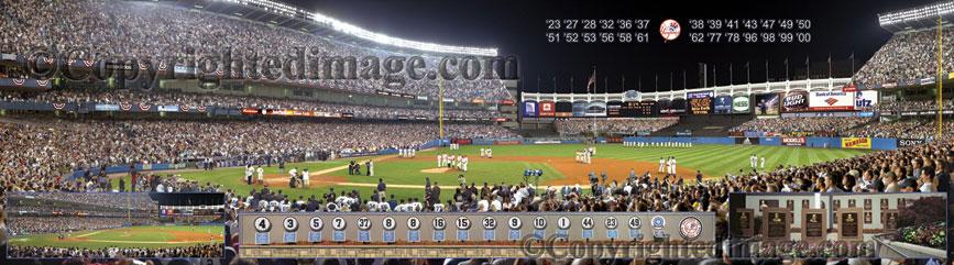 0634557e49e ... Yankee Stadium panorama poster   View a larger image