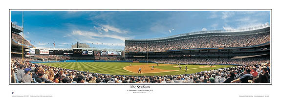 19f41cb6eb2 The caption on the poster says. The Stadium A Panoramic View in Bronx