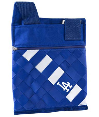 los angeles dodgers logo. Dodgers game day purse