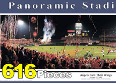 Angel Stadium puzzle