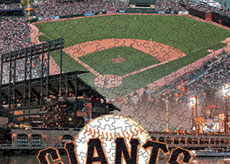 AT&T Park with Giants logo puzzle