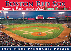 Fenway Park panorama puzzle