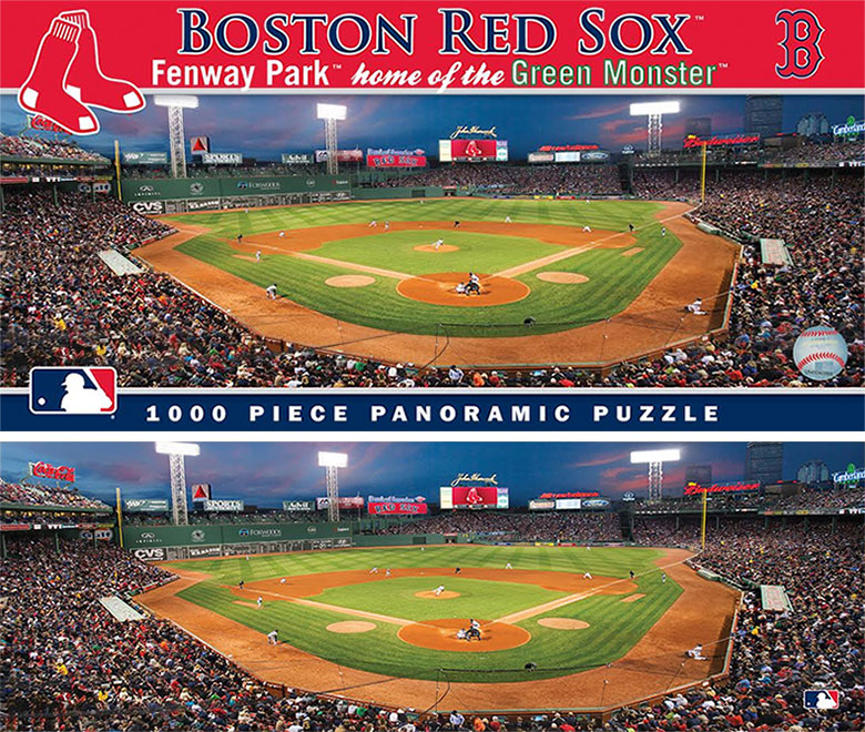 fenway park puzzle and box