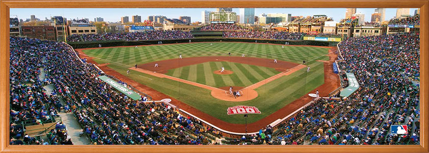 Wrigley Field Panorama Puzzle