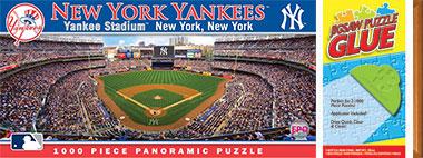 Yankee Stadium Panorama Puzzle