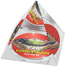 Busch Stadium crystal pyramid