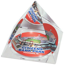 Citizens Bank Park crystal pyramid