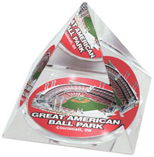 Great American Ball Park crystal pyramid