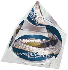 New Yankee Stadium crystal pyramid