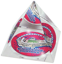 Progressive Field crystal pyramid