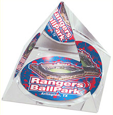 Rangers Ballpark crystal pyramid