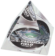 U.S. Cellular Field crystal pyramid