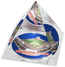 Wrigley Field crystal pyramid