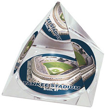 Yankee Stadium crystal pyramid