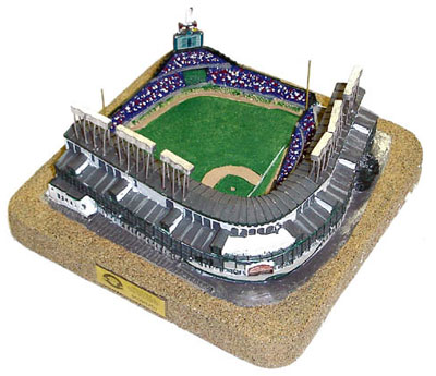 how to build a model of wrigley field