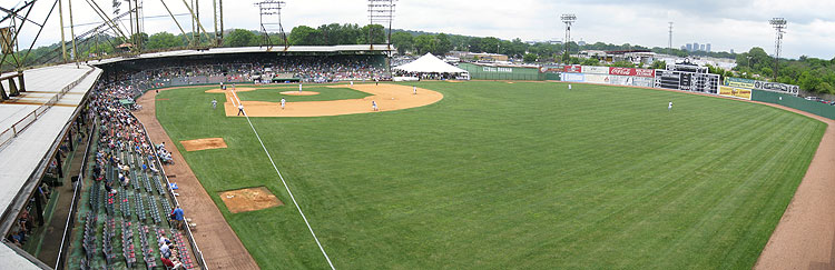 Rickwood Field during the 2008 Classic