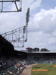 Rickwood Field's antique light towers