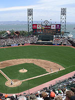 AT&T Park panorama