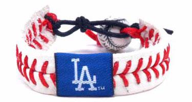 Dodgers Baseball Seam Bracelet