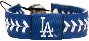 Dodgers Team Color Baseball Seam Bracelet