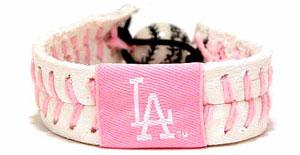 Dodgers Pink Bracelet