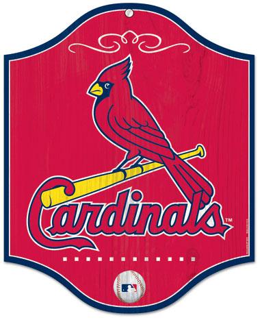 St  Louis Cardinals Wood Sign